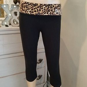 Victoria's Secret PINK Leopard Top Yoga Pants